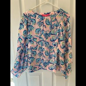 NWT Lilly Pulitzer Maisel Top Chasing the Sun